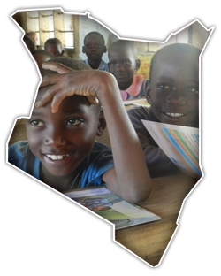 Kids in Kenia